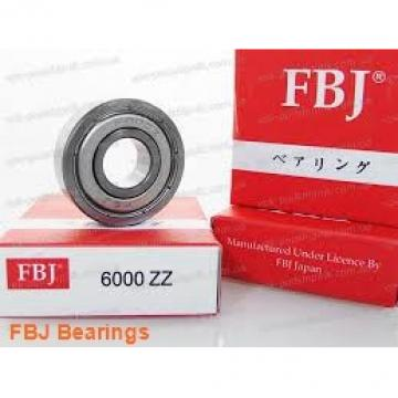70 mm x 125 mm x 31 mm  FBJ NUP2214 cylindrical roller bearings