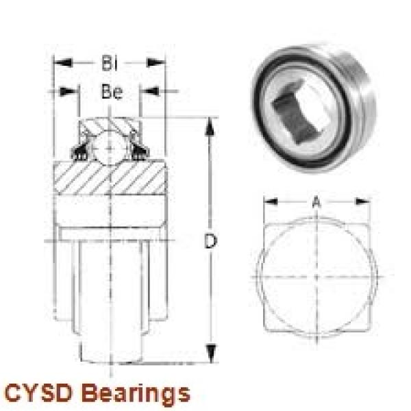 100 mm x 215 mm x 73 mm  CYSD NJ2320 cylindrical roller bearings #1 image